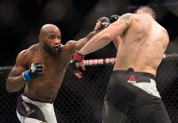 UFC 205:クリス・ワイドマン vs. ヨエル・ロメロ【ニューヨーク/2016年11月13日(Photo by Brandon Magnus/Zuffa LLC/Zuffa LLC via Getty Images)】