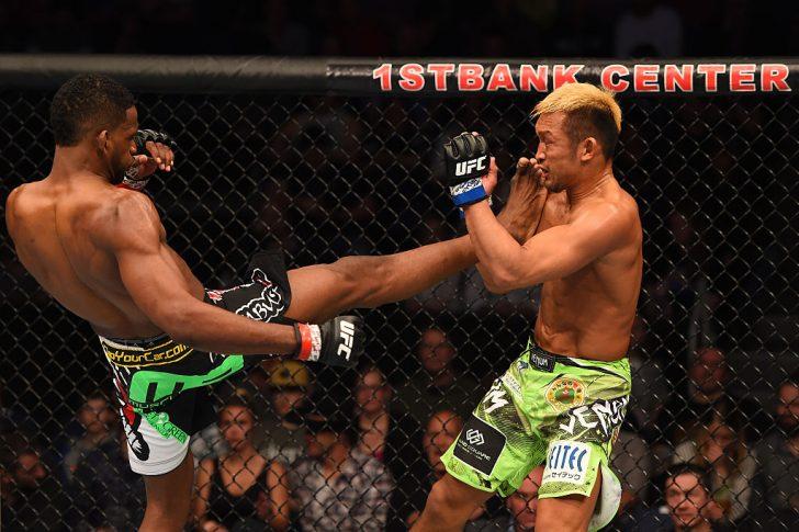 UFCファイトナイト・ブルームフィールド:ニール・マグニー vs. 国本起一【コロラド州ブルームフィールド/2015年2月15日(Photo by Josh Hedges/Zuffa LLC/Zuffa LLC via Getty Images)】