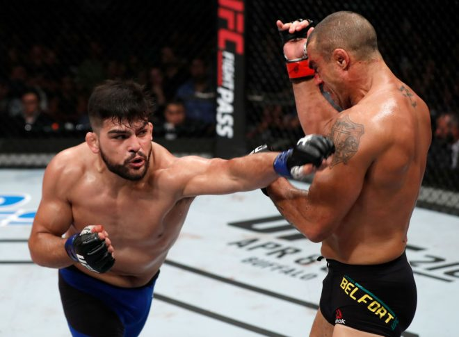 UFCファイトナイト・フォルタレザ:ビトー・ベウフォート vs.ケルヴィン・ガステラム【ブラジル・フォルタレザ/2017年3月12日(Photo by Buda Mendes/Zuffa LLC/Zuffa LLC via Getty Images)】