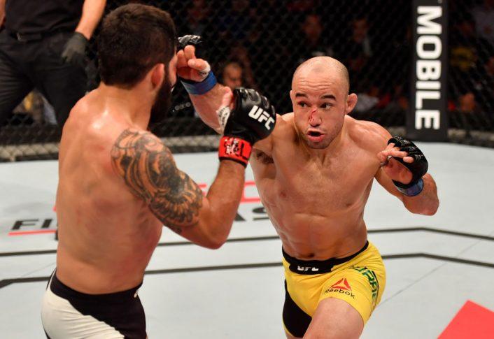 UFC 212:ハファエル・アスンソン vs. マルロン・モラエス【ブラジル・リオデジャネイロ/2017年6月3日(Photo by Jeff Bottari/Zuffa LLC/Zuffa LLC via Getty Images)】