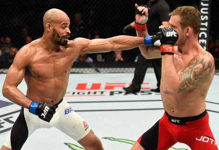 UFC 211:クリストフ・ヨトゥコ vs. デビッド・ブランチ【アメリカ・テキサス州ダラス/2017年5月13日(Photo by Josh Hedges/Zuffa LLC/Zuffa LLC via Getty Images)】