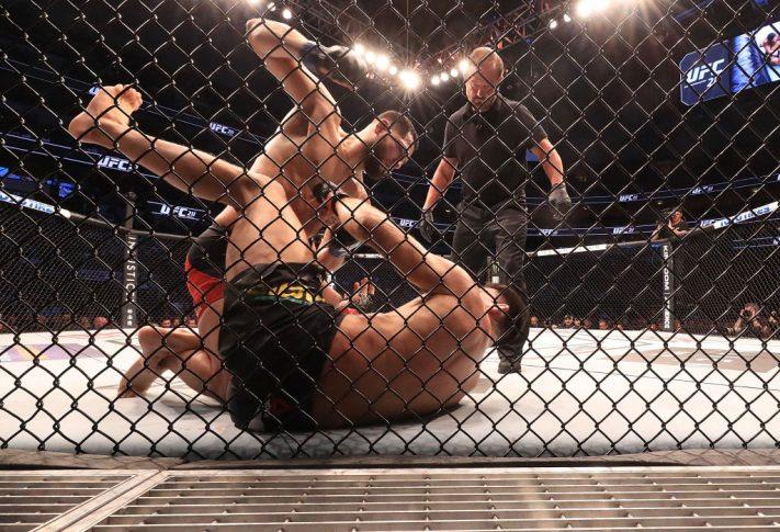UFC 211:デミアン・マイア vs. ホルヘ・マスヴィダル【アメリカ・テキサス州ダラス/2017年5月13日(Photo by Ronald Martinez/Getty Images)】