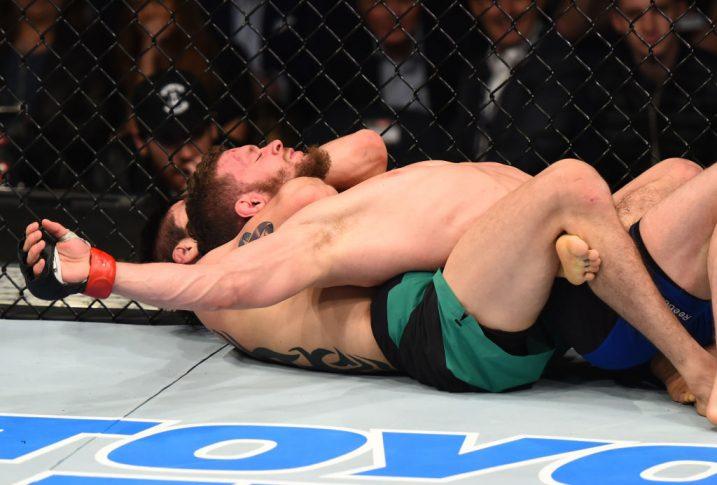 UFCファイトナイト・ナッシュビル:ダスティン・オルティス vs. ブランドン・モレノ【アメリカ・テネシー州ナッシュビル/2017年4月22日(Photo by Jeff Bottari/Zuffa LLC/Zuffa LLC via Getty Images)】