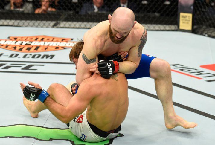 UFCファイトナイト・カンザスシティ:ザック・カミングス vs. ネイサン・コイ【アメリカ・ミズーリ州カンザスシティ/2017年4月15日(Photo by Josh Hedges/Zuffa LLC/Zuffa LLC via Getty Images)】