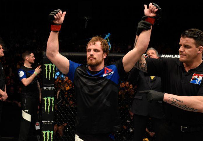 UFCファイトナイト・ロンドン:グンナー・ネルソン vs. アラン・ジョバーン【イギリス・ロンドン/2017年3月19日(Photo by Josh Hedges/Zuffa LLC/Zuffa LLC via Getty Images)】