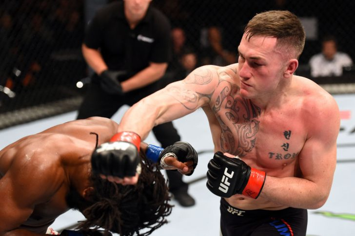 UFCファイトナイト・オークランド:ルーク・ジュモー vs. ドミニク・スティール【ニュージーランド・オークランド/2017年6月11日(Photo by Josh Hedges/Zuffa LLC/Zuffa LLC via Getty Images)】