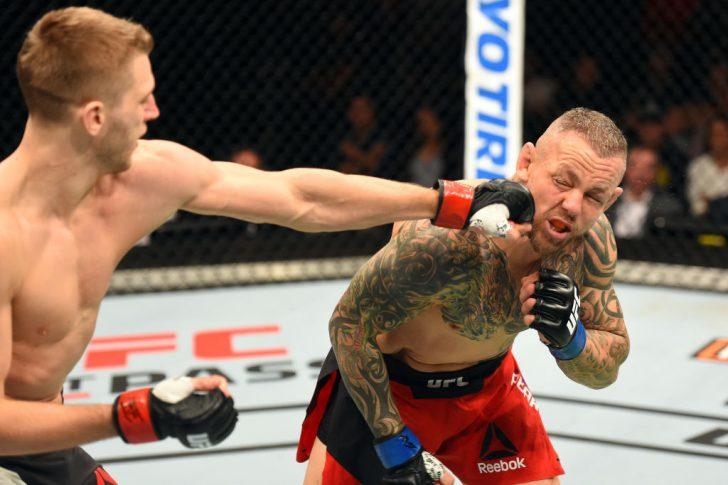 UFCファイトナイト・オークランド:ダニエル・フッカー vs. ロス・ピアソン【ニュージーランド・オークランド/2017年6月11日(Photo by Josh Hedges/Zuffa LLC/Zuffa LLC via Getty Images)】