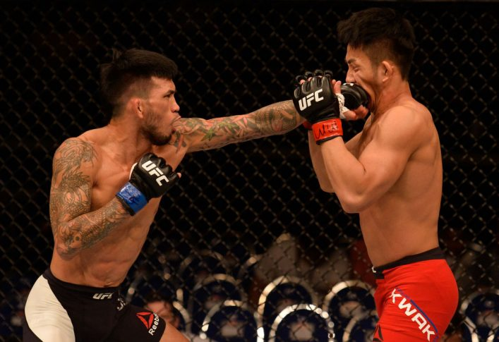 UFCファイトナイト・シンガポール:クァク・グァンホ vs. ラッセル・ドゥアン【シンガポール・カラン/2017年6月17日(Photo by Brandon Magnus/Zuffa LLC/Zuffa LLC via Getty Images)】