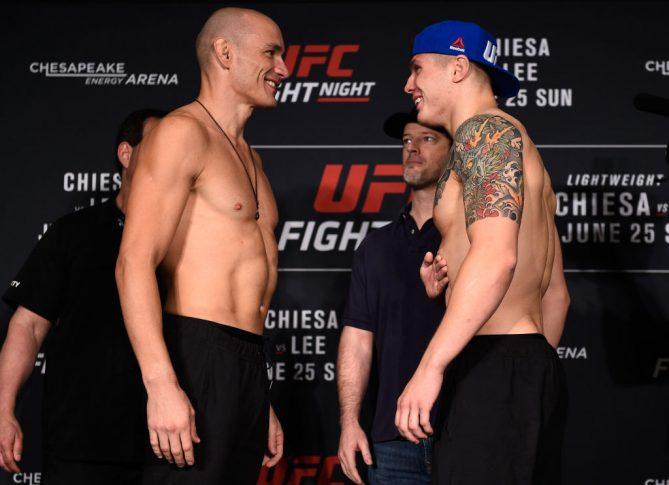 UFCファイトナイト・オクラホマシティ:フェイスオフに臨んだヴィトー ...