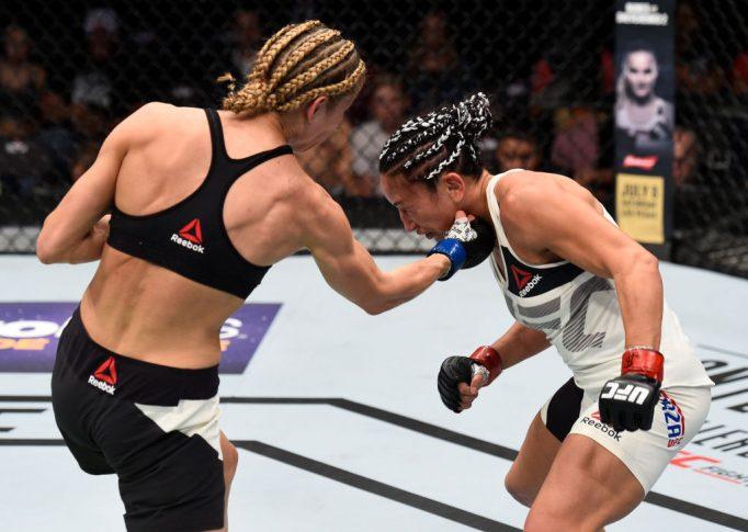 UFCファイトナイト・オクラホマシティ:カーラ・エスパルザ vs. マリナ・モロズ【オクラホマ州・アメリカ/2017年6月25日(Photo by Brandon Magnus/Zuffa LLC/Zuffa LLC via Getty Images)】