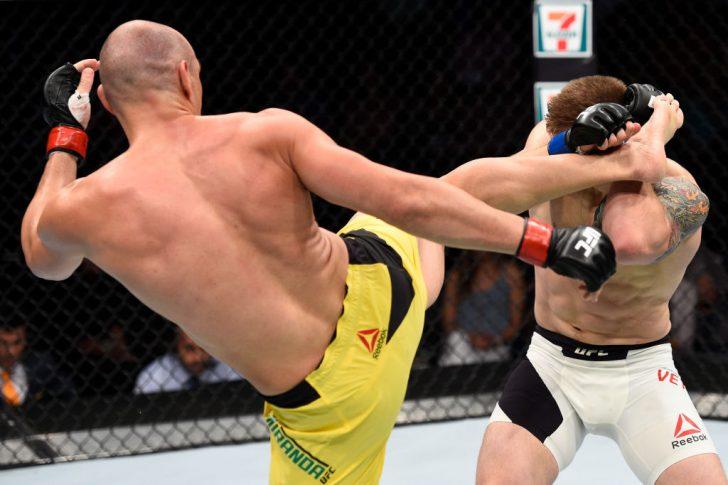 UFCファイトナイト・オクラホマシティ:ヴィトー・ミランダ vs ...