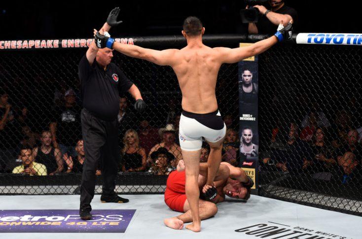 UFCファイトナイト・オクラホマシティ:ジョアキム・クリステンセン vs. ドミニク・レイエス【オクラホマ州・アメリカ/2017年6月25日(Photo by Brandon Magnus/Zuffa LLC/Zuffa LLC via Getty Images)】