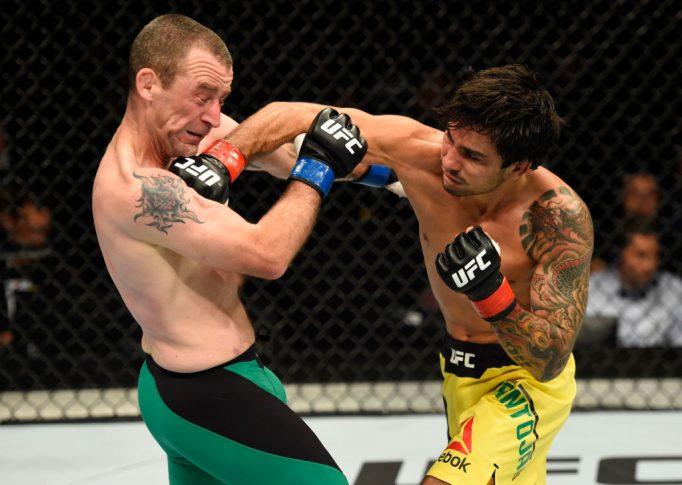 UFCファイトナイト・グラスゴー:アレクサンドル・パントーハ vs. ニール・シーリー【スコットランド・グラスゴー/2017年7月16日(Photo by Josh Hedges/Zuffa LLC/Zuffa LLC via Getty Images)】