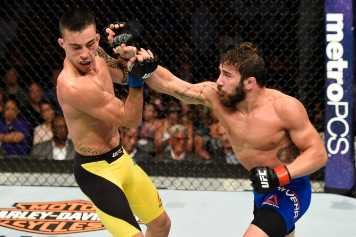 UFCファイトナイト・ロングアイランド:ジミー・リベラ vs. トーマス・アウメイダ【ニューヨーク州・アメリカ/2017年7月22日(Photo by Josh Hedges/Zuffa LLC/Zuffa LLC via Getty Images)】
