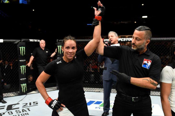 UFCファイトナイト・ロッテルダム:マリオン・レノー vs. タリタ・ベルナルド【オランダ・ロッテルダム/2017年9月2日(Photo by Josh Hedges/Zuffa LLC/Zuffa LLC via Getty Images)】