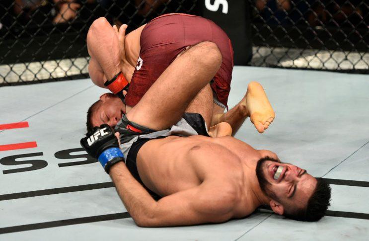 UFCファイトナイト・ポーランド:マルチン・ヘルド vs. ナスラット・ハクパラスト【ポーランド・グダニスク/2017年10月21日(Photo by Jeff Bottari/Zuffa LLC/Zuffa LLC via Getty Images)】