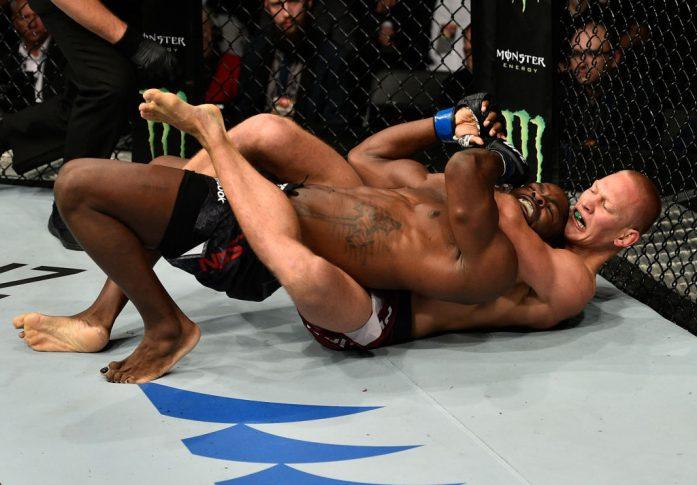 UFCファイトナイト・ポーランド:オスカル・ピエホタ vs. ジョナサン・ウィルソン【ポーランド・グダニスク/2017年10月21日(Photo by Jeff Bottari/Zuffa LLC/Zuffa LLC via Getty Images)】