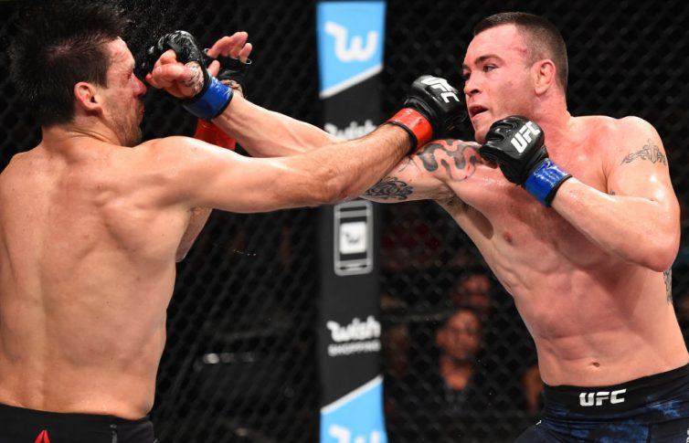 UFCファイトナイト・サンパウロ:デミアン・マイア vs. コルビー・コビントン【ブラジル・サンパウロ/2017年10月28日(Photo by Josh Hedges/Zuffa LLC/Zuffa LLC via Getty Images)】