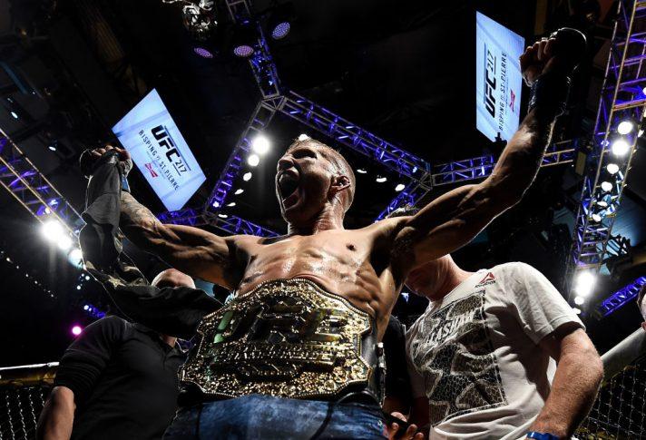 UFC 217:コーディ・ガーブラント vs. T.J.ディラショー【アメリカ・ニューヨーク州ニューヨーク/2017年11月4日(Photo by Brandon Magnus/Zuffa LLC/Zuffa LLC via Getty Images)】