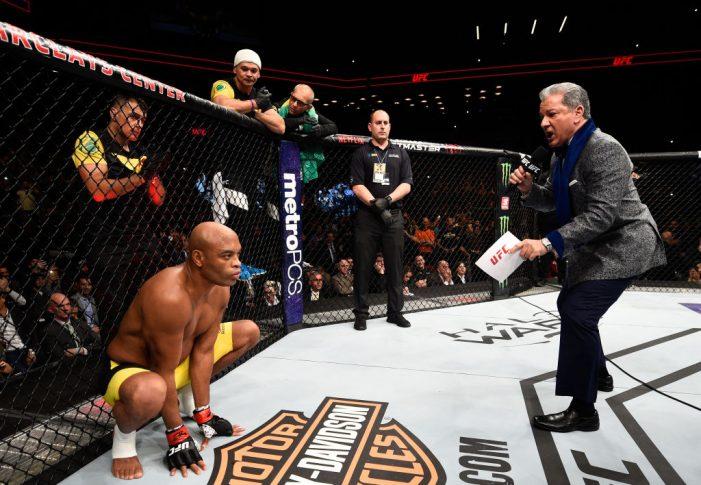 UFC 208:アンデウソン・シウバ【2017年2月11日(Photo by Jeff Bottari/Zuffa LLC/Zuffa LLC via Getty Images)】