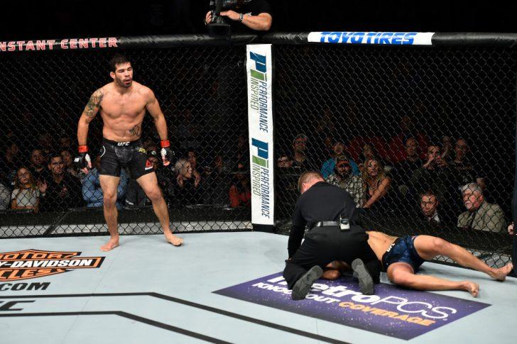 UFCファイトナイト・ノーフォーク:ハファエル・アスンソン vs. マシュー・ロペス【アメリカ・バージニア州ノーフォーク/2017年11月11日(Photo by Brandon Magnus/Zuffa LLC/Zuffa LLC via Getty Images)】