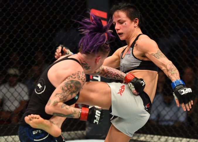 UFCファイトナイト・シドニー:ベック・ローリングス vs. ジェシカ・ローズ・クラーク【オーストラリア・シドニー/2017年11月19日(Photo by Josh Hedges/Zuffa LLC/Zuffa LLC via Getty Images)】