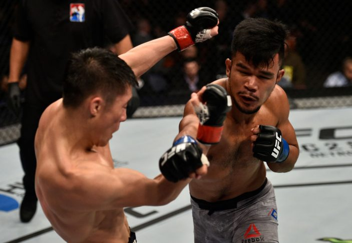 UFCファイトナイト上海:ウリジ・ブレン vs. ロランド・ディ【中国・上海/2017年11月25日(Photo by Brandon Magnus/Zuffa LLC via Getty Images)】