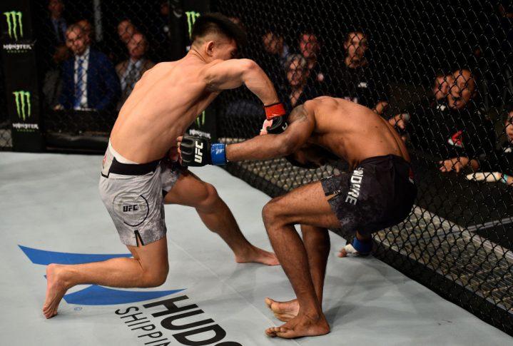 UFCファイトナイト上海:ソン・ヤドン vs. バラト・カンダレ【中国・上海/2017年11月25日(Photo by Brandon Magnus/Zuffa LLC via Getty Images)】