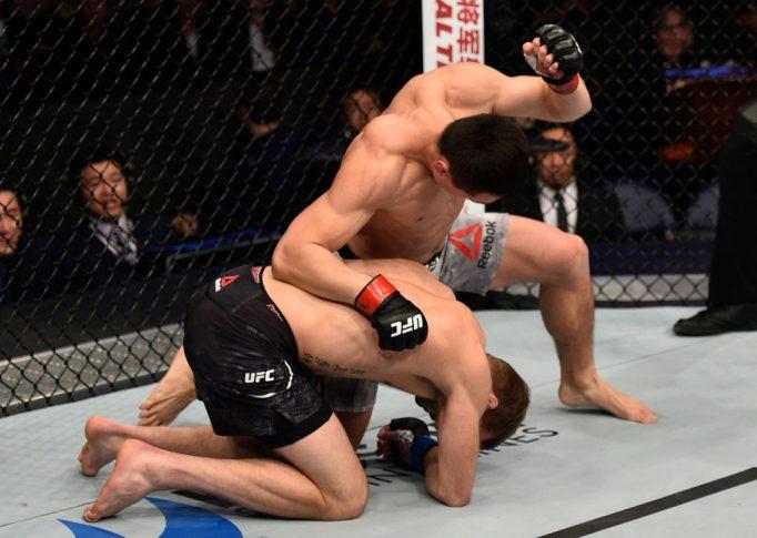 UFCファイトナイト上海:ソン・ケナン vs. ボビー・ナッシュ【中国・上海/2017年11月25日(Photo by Brandon Magnus/Zuffa LLC via Getty Images)】