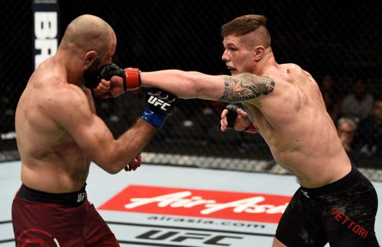 UFC 219:マービン・ヴェットーリ vs. オマリ・アフメドフ【アメリカ・ネバダ州ラスベガス/2017年12月30日(Photo by Jeff Bottari/Zuffa LLC/Zuffa LLC via Getty Images)】