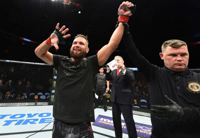 UFCファイトナイト・セントルイス:ジェレミー・スティーブンス vs. チェ・ドゥホ【ミズーリ州セントルイス・アメリカ/2018年1月14日(Photo by Josh Hedges/Zuffa LLC/Zuffa LLC via Getty Images)】
