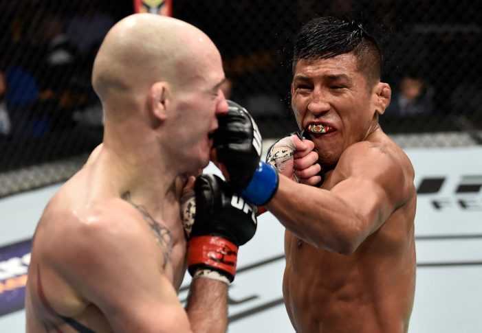 UFC 220:マット・ベセット vs. エンリケ・バルソラ【アメリカ・マサチューセッツ州ボストン/2018年1月20日(Photo by Jeff Bottari/Zuffa LLC/Zuffa LLC via Getty Images)】