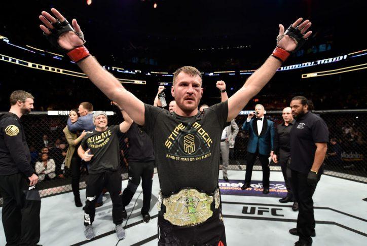 UFC 220:スティペ・ミオシッチ vs. フランシス・ガヌー【アメリカ・マサチューセッツ州ボストン/2018年1月20日(Photo by Jeff Bottari/Zuffa LLC/Zuffa LLC via Getty Images)】