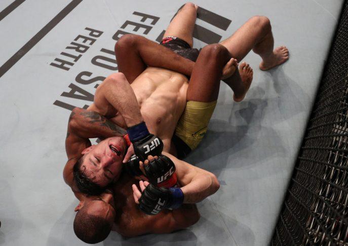 UFCファイトナイト・ベレン:アラン・パトリック vs. ダミア・ハゾビック【ブラジル・ベレン/2018年2月3日(Photo by Buda Mendes/Zuffa LLC/Zuffa LLC via Getty Images)】