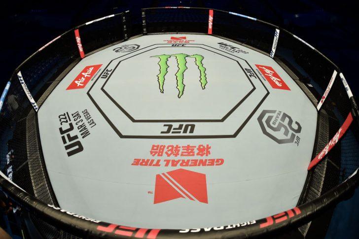 UFC 221:オクタゴン【オーストラリア・パース/2018年2月11日(Photo by Jeff Bottari/Zuffa LLC/Zuffa LLC via Getty Images)】