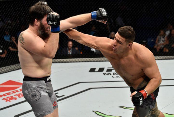 UFC 221:タイ・トゥイバサ vs. シリル・アスカー【オーストラリア・パース/2018年2月11日(Photo by Jeff Bottari/Zuffa LLC/Zuffa LLC via Getty Images)】
