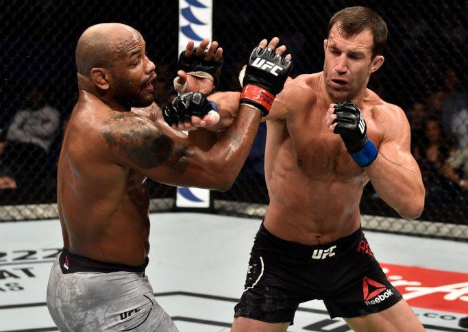 UFC 221:ヨエル・ロメロ vs. ルーク・ロックホールド【オーストラリア・パース/2018年2月11日(Photo by Jeff Bottari/Zuffa LLC/Zuffa LLC via Getty Images)】