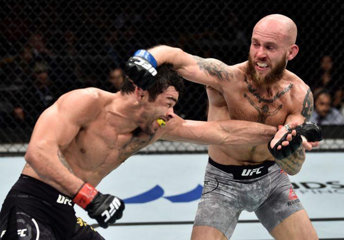 UFCファイトナイト・オーランド:ヘナン・バラオン vs. ブライアン・ケレハー【アメリカ・フロリダ州オーランド/2018年2月24日(Photo by Jeff Bottari/Zuffa LLC/Zuffa LLC via Getty Images)】