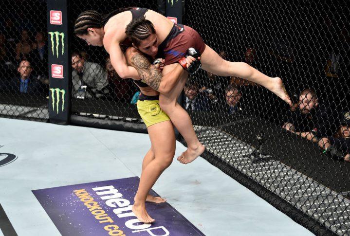UFCファイトナイト・オーランド:ジェシカ・アンドラージ vs. テシア・トーレス【アメリカ・フロリダ州オーランド/2018年2月24日(Photo by Jeff Bottari/Zuffa LLC/Zuffa LLC via Getty Images)】