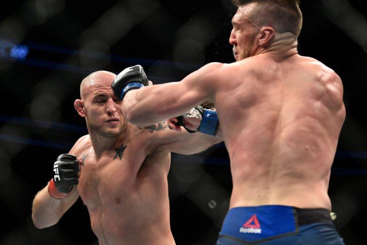 UFC 222:ジョーダン・ジョンソン vs. アダム・ミルステッド【アメリカ・ネバダ州ラスベガス/2018年3月3日(Photo by Brandon Magnus/Zuffa LLC/Zuffa LLC via Getty Images)】