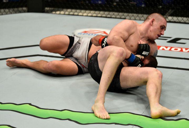 UFCファイトナイト・ロンドン:マーク・ゴッドビアー vs. ドミトリー・ソスノフスキー【イギリス・ロンドン/2018年3月17日(Photo by Brandon Magnus/Zuffa LLC/Zuffa LLC via Getty Images)】
