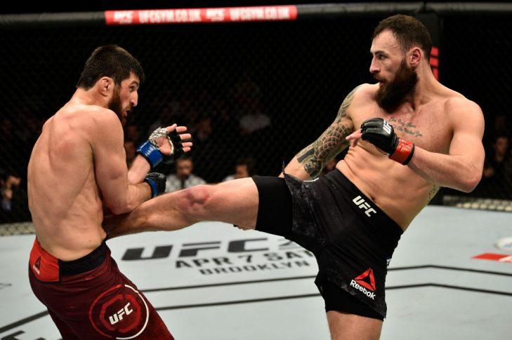 UFCファイトナイト・ロンドン:ポール・クレイグ vs. マゴメド・アンカラエフ【イギリス・ロンドン/2018年3月17日(Photo by Brandon Magnus/Zuffa LLC/Zuffa LLC via Getty Images)】