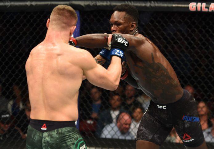 UFCファイトナイト・アリゾナ:イズラエル・アデサニヤ vs. マービン・ヴェットーリ【アメリカ・アリゾナ州グレンデール/2018年4月14日(Photo by Josh Hedges/Zuffa LLC/Zuffa LLC via Getty Images)】