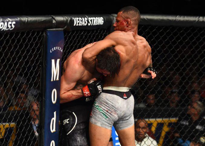 UFCファイトナイト・アリゾナ:カーロス・コンディット vs. アレックス・オリベイラ【アメリカ・アリゾナ州グレンデール/2018年4月14日(Photo by Josh Hedges/Zuffa LLC/Zuffa LLC via Getty Images)】