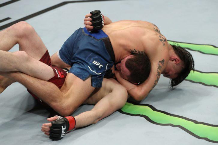 UFCファイトナイト・アトランティックシティ:メラブ・ドバリシビリ vs. リッキー・シモン【アメリカ・ニュージャージー州アトランティックシティ/2018年4月21日(Photo by Patrick Smith/Zuffa LLC/Zuffa LLC via Getty Images)】