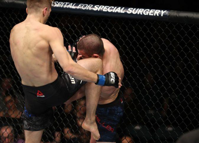 UFCファイトナイト・アトランティックシティ:ジム・ミラー vs. ダニエル・フッカー【アメリカ・ニュージャージー州アトランティックシティ/2018年4月21日(Photo by Patrick Smith/Zuffa LLC/Zuffa LLC via Getty Images)】