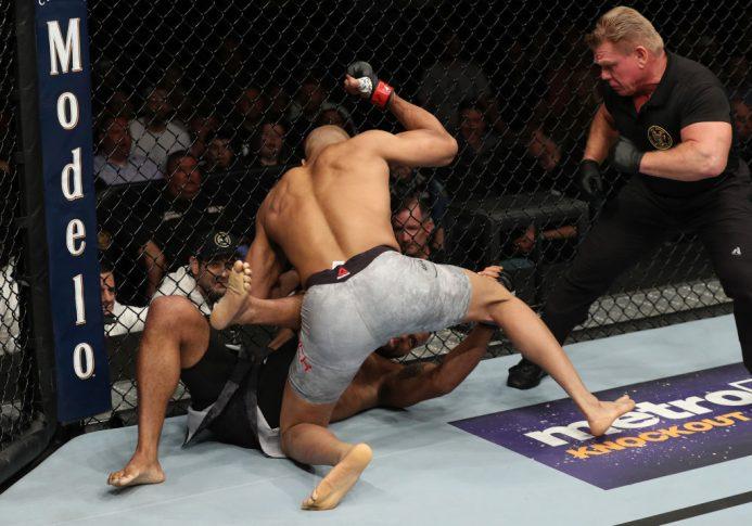 UFCファイトナイト・アトランティックシティ:デビッド・ブランチ vs. チアゴ・サントス【アメリカ・ニュージャージー州アトランティックシティ/2018年4月21日(Photo by Patrick Smith/Zuffa LLC/Zuffa LLC via Getty Images)】