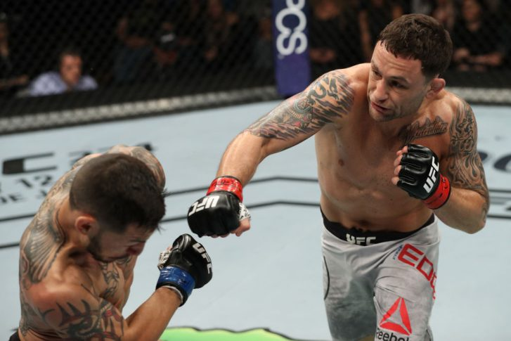 UFCファイトナイト・アトランティックシティ:フランキー・エドガー vs. カブ・スワンソン【アメリカ・ニュージャージー州アトランティックシティ/2018年4月21日(Photo by Patrick Smith/Zuffa LLC/Zuffa LLC via Getty Images)】