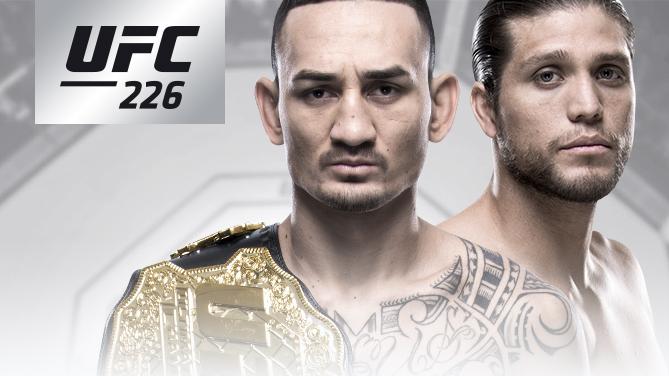 UFC 226:マックス・ホロウェイ vs. ブライアン・オルテガ