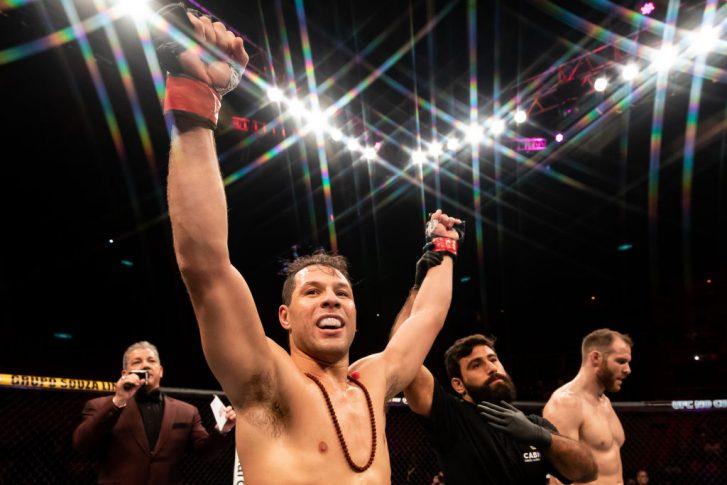 UFC 224:マルクス・ペレス vs. ジェームズ・ボクノビック【ブラジル・リオデジャネイロ/2018年5月12日(Photo by Buda Mendes/Zuffa LLC/Zuffa LLC)】